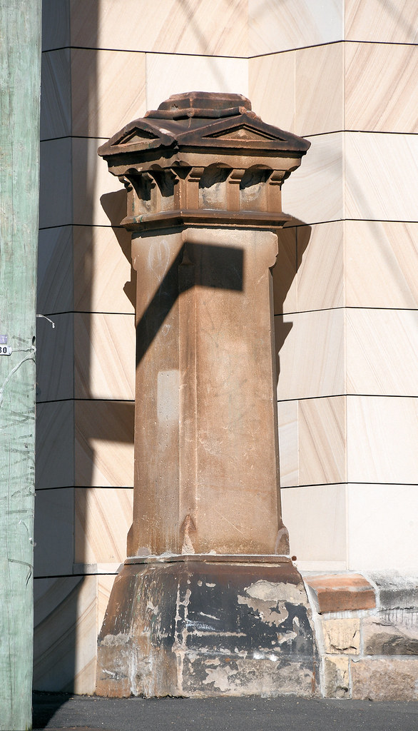 Pillar, Darlinghurst, Sydney, NSW.