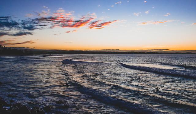Sunset Ocean Cloud Script