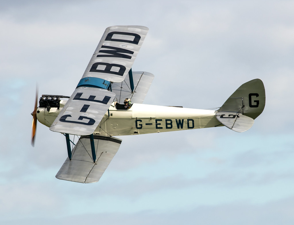 de Havilland DH60X Gipsy Moth - G-EBWD
