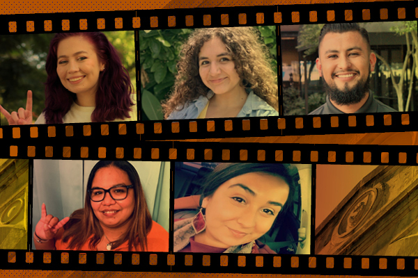 Celebrating Hispanic Heritage Month: Collage of smiling faces