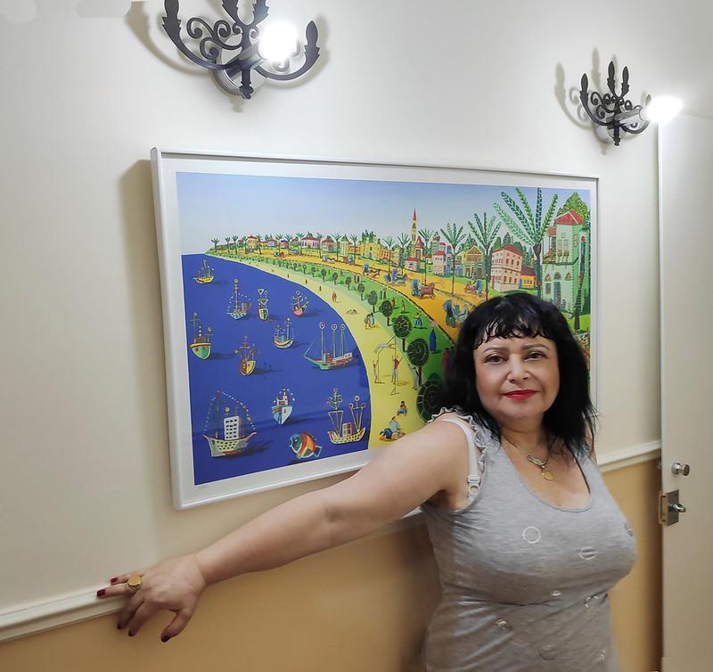 ענת אנגל אמנית יוצרת חובבת אמנות נאיבית ישראלית עכשווית מודרנית רפי פרץ  ציור נאיבי יוצר  ישראלי צייר אמן  עכשווי מודרני anat angel raphael perez  naive art