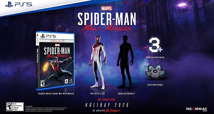 Spider-Man: Miles Morales, ön sipariş bonusları