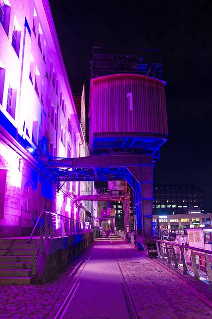 Berlin leuchtet 2020 Tempelhofer Hafen 29.9.2020