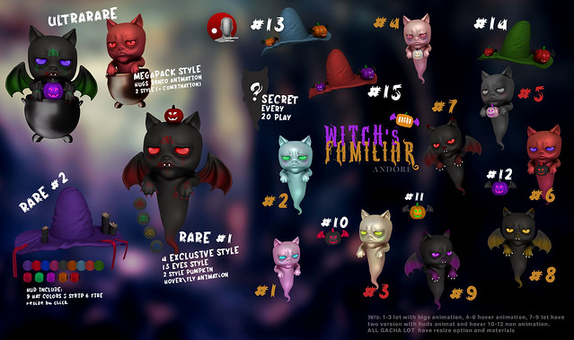 ANDORE @ Exclusive for Level Event (Halloween edition)  (Open 1 Oct)