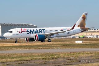 "F-WWDY // CC-AWP JETSMART AIRBUS A320NEO msn 0069""  Pato BancoEstado"""