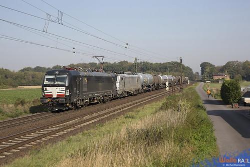 193 624+37004 . CFL Cargo . 95613 . Ossum-Bösinghoven , Meerbusch . 22.09.20.