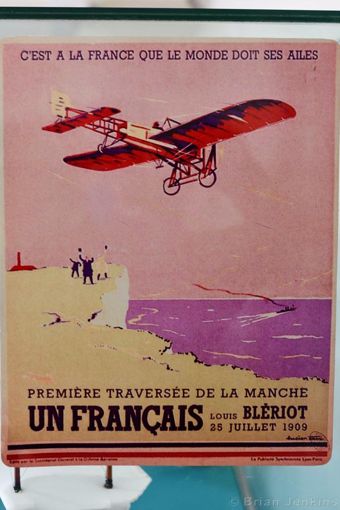 Blériot Celebration Poster