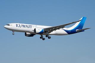 F-WWCL / 9K-APG - Airbus A330-841 NEO - Kuwait Airways - msn 1969