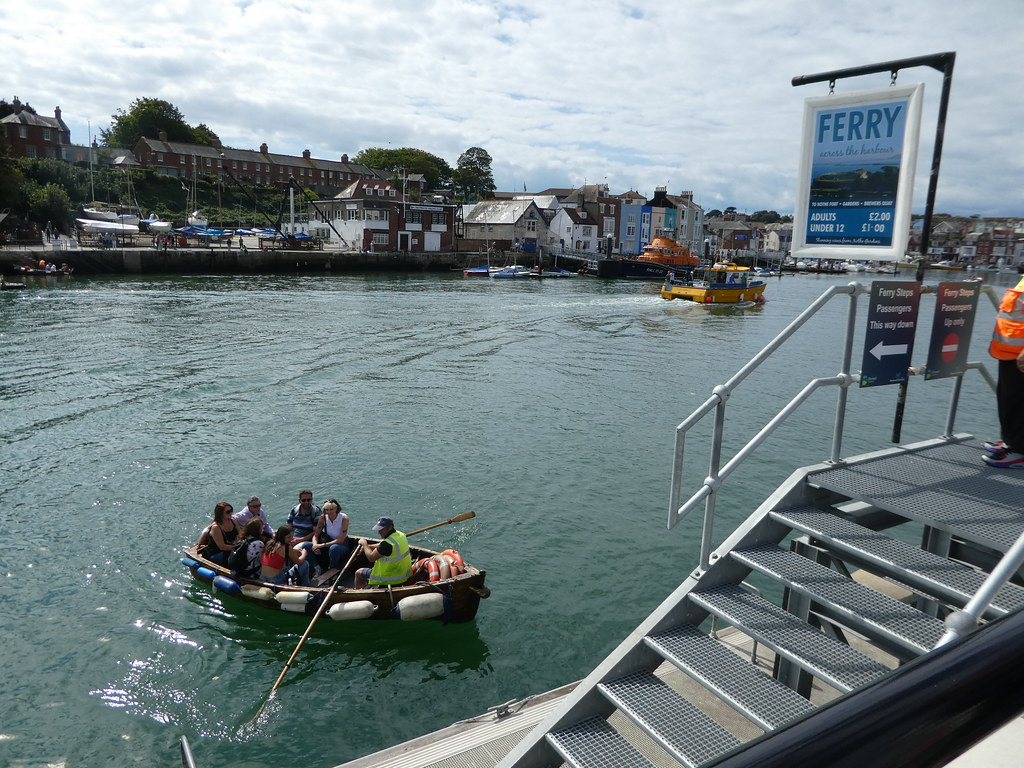 Row Boat Harbour Ferry Weymouth