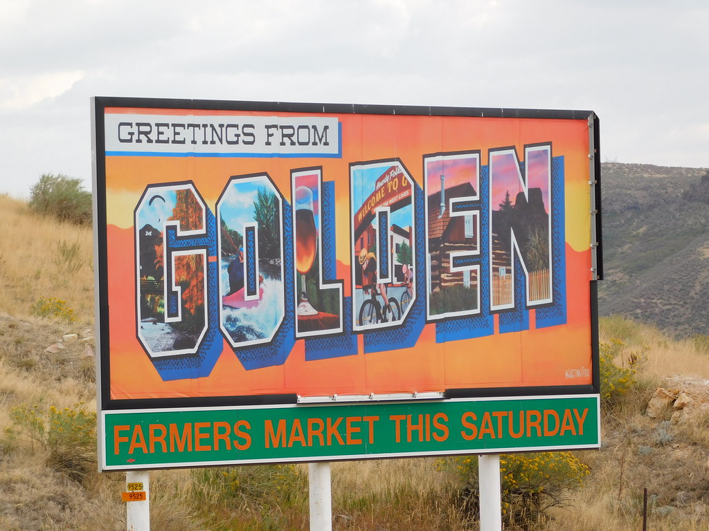 Greetings from Golden Billboard