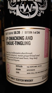 SMWS 58.39 - Lip-smacking and tongue-tingling
