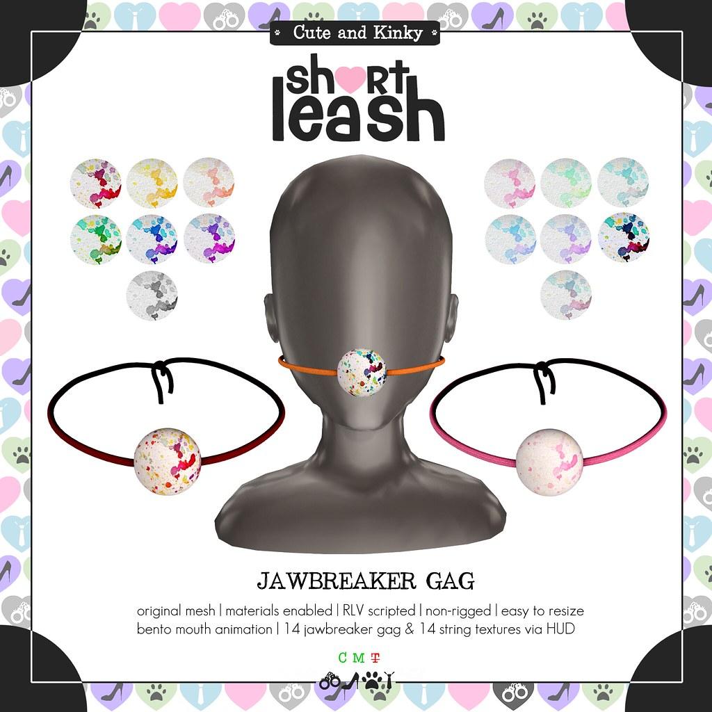 .:Short Leash:. Jawbreaker Gag