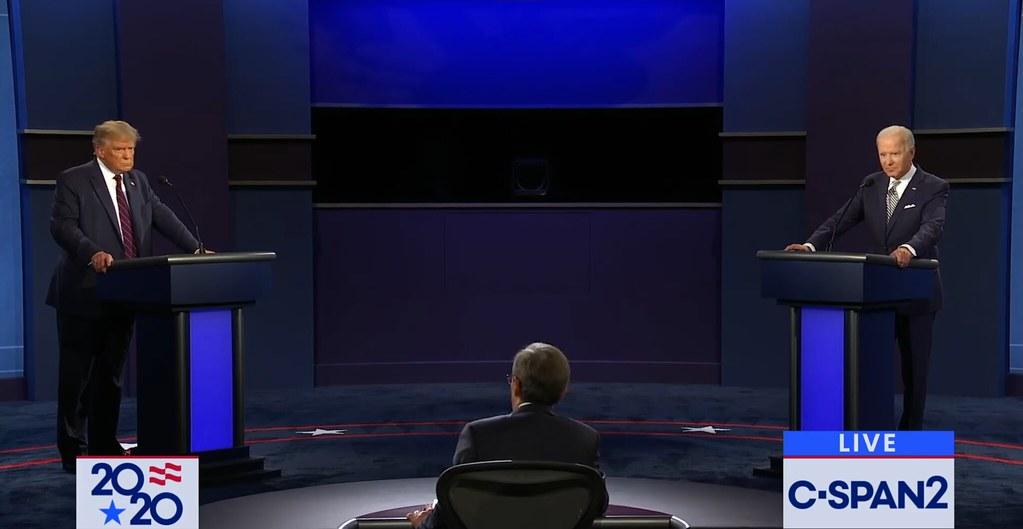 photo of presidential debate