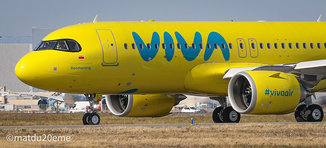 First Airbus A320Neo / Viva Air Colombia