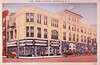 Exterior view- Hotel La Fayette and Saunders Drugs