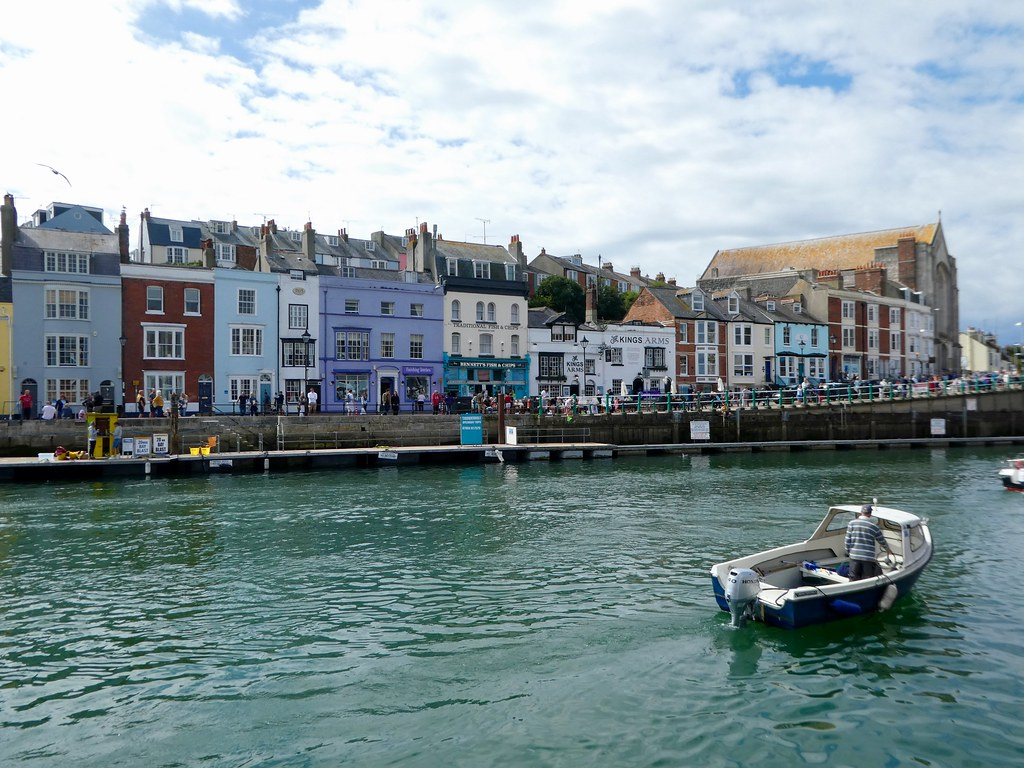 THe old harbour, Weymouth