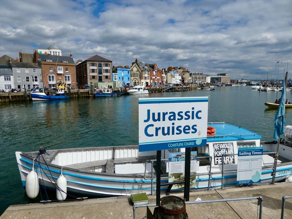 Jurassic Cruises from Weymouth Quay