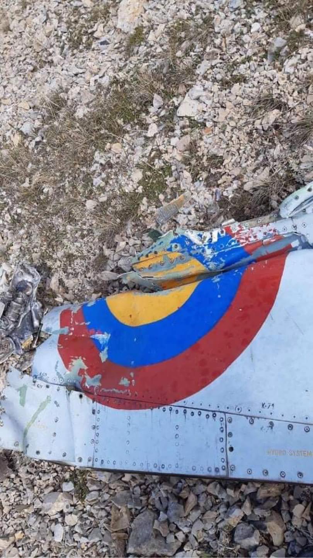 SU-25 abattu