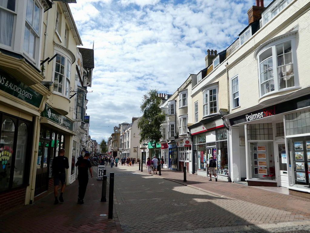 Weymouth town centre