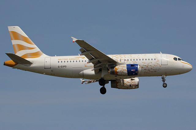 G-EUPD | Airbus A319-131 | British Airways (special