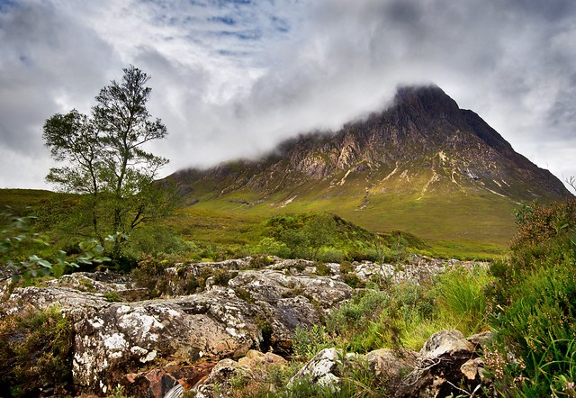 Glen etive - changeable weather