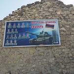 I believe this poster honors Armenian tank crews who scored well at a tank biathlon