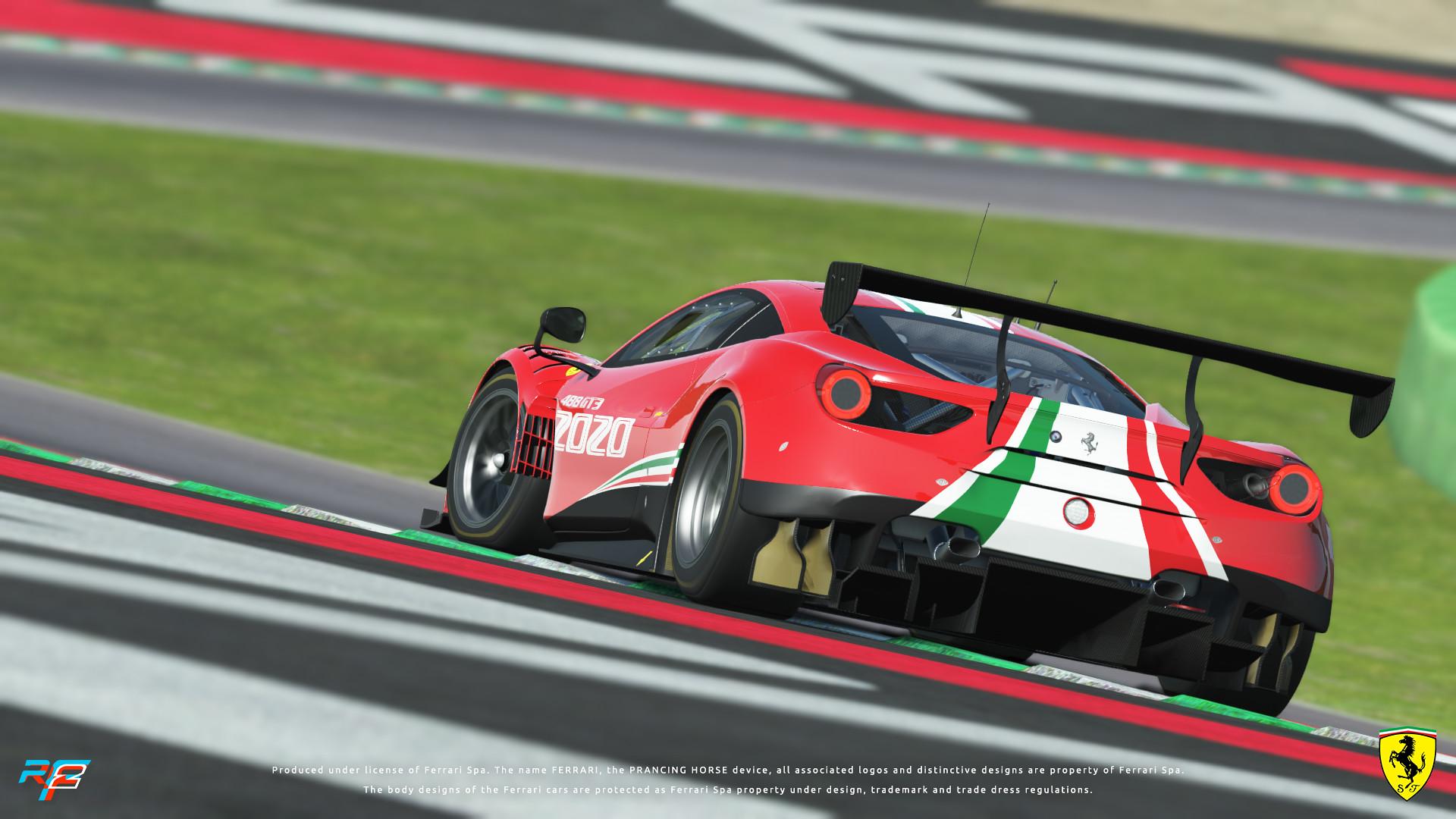 rF2 Ferrari 1