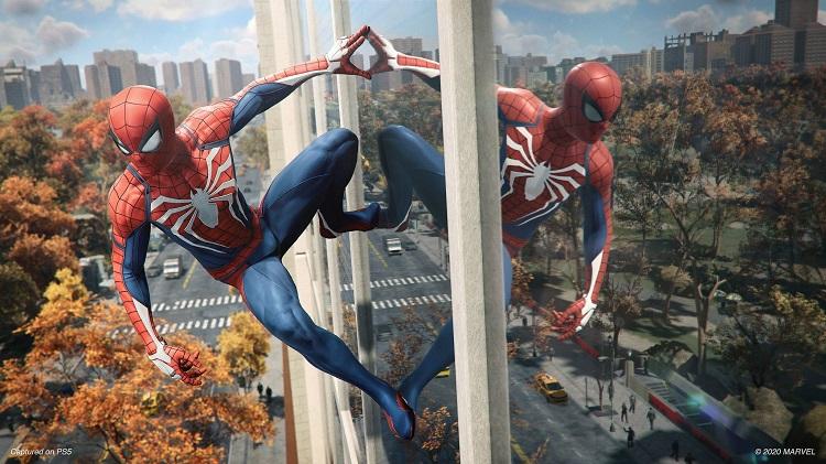 Marvel's Spider-Man Remastered, ışın izleme