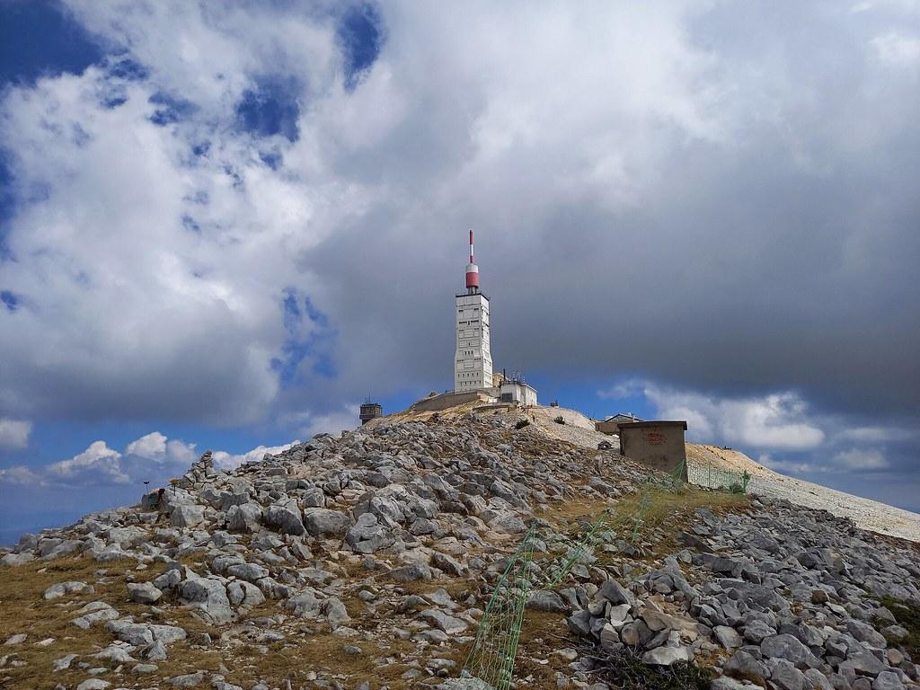 Antenne du mont Ventoux.