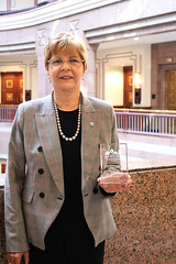Rep. Zawistowski was recognized by CCM as a Legislator of the Year for her work as Planning & Development Committee Ranking Member.