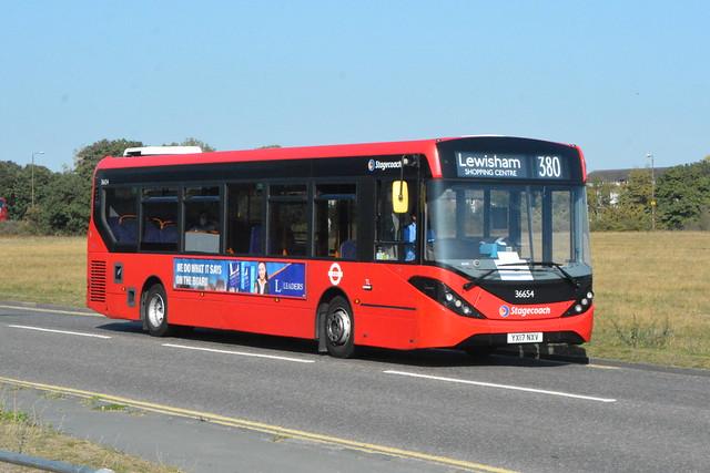 YX17 NXV (36654) Stagecoach London