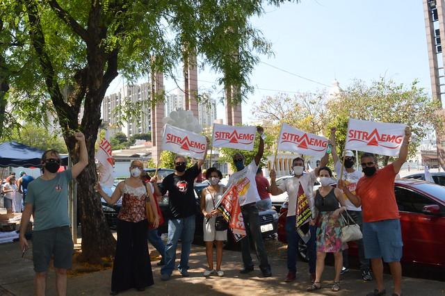 Carreata em BH - Dia Nacional de Luta contra a Reforma Administrativa