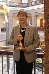 Rep. Zawistowski was recognized by CT COST as a Town Crier for her work as Planning & Development Committee Ranking Member.