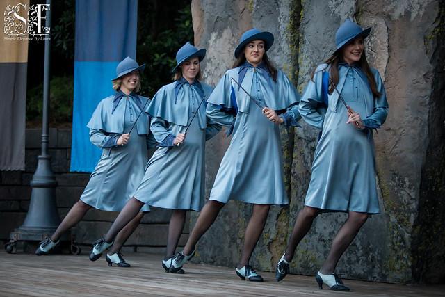 Four Beauxbatons Ladies