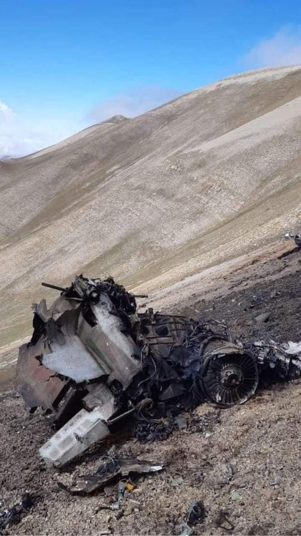 SU-25 arménien abattu