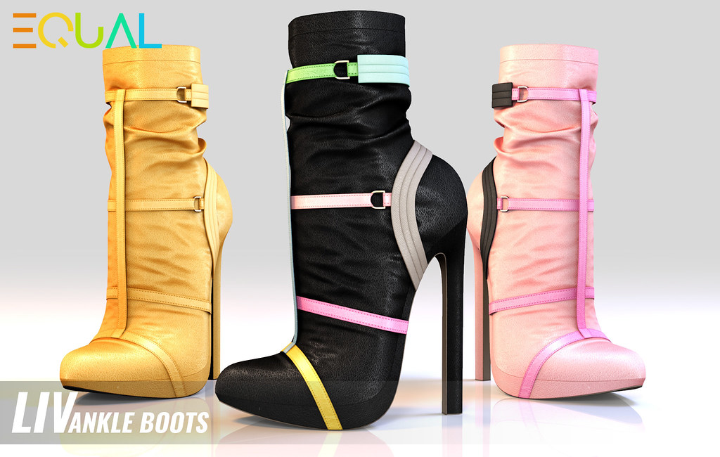 EQUAL – Liv Ankle Boots