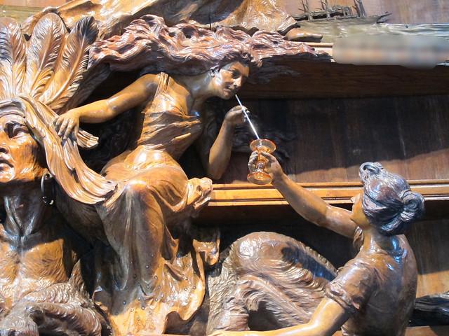 Quoi et où??? Grand Foudre de Pommery (1904), Emile Gallé - Domaine Vranken-Pommery Monopole, Reims (51) [Explore du 2 octobre 2020]