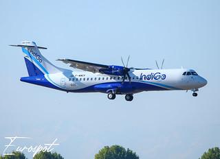 F-WWEK ATR72-600 Indigo s/n 1600 / Eurospot @ TLS 2020
