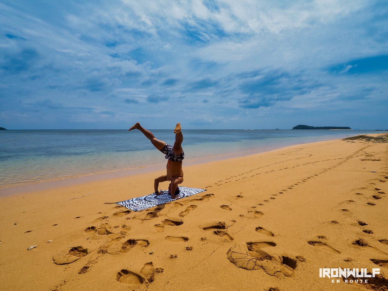 Having fun at Tagbirayan Beach