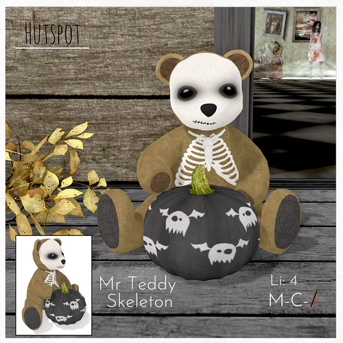 Mr Teddy - Skeleton