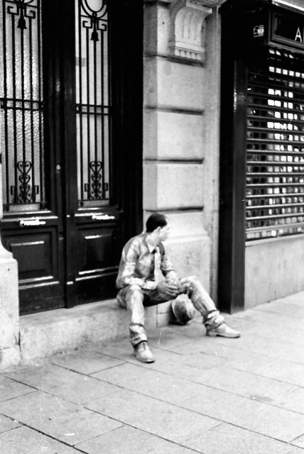 Street - Kodak Retina Reflex III