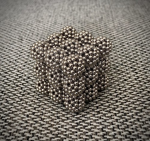 Cube of C60 Spheres | by saltbagger1234