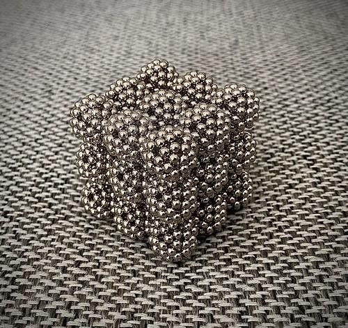 Cube of C60 Spheres