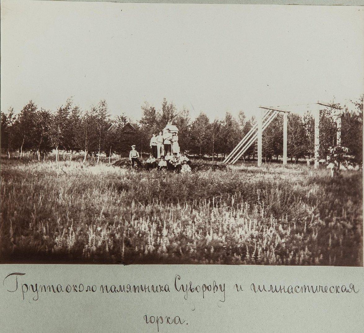 40. Кадеты возле памятника А.В. Суворову