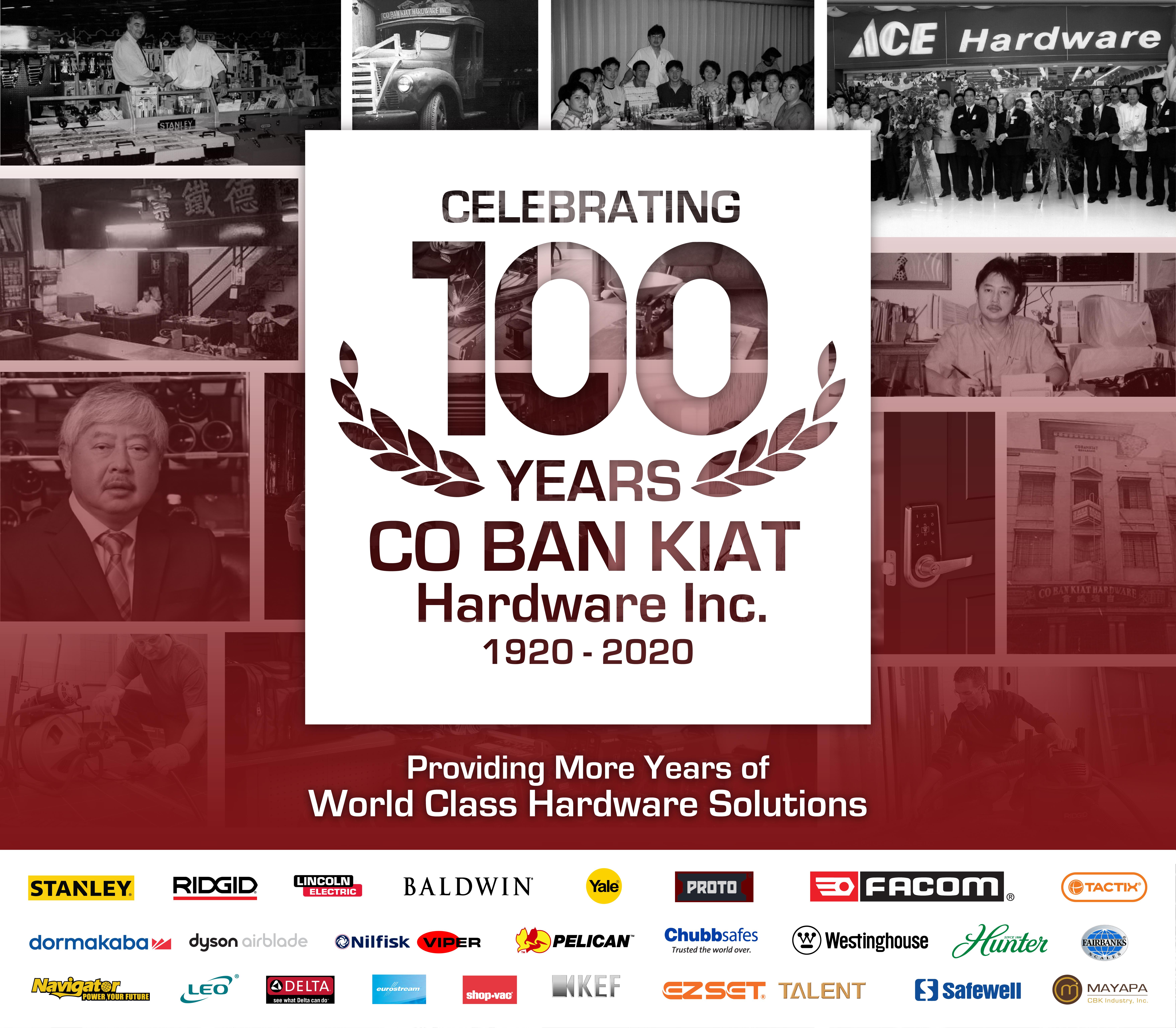 CBK Hardware Sale 100 years