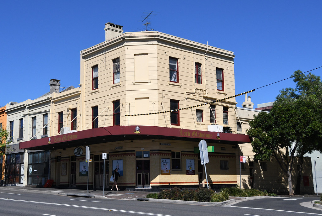 Lord Gladstone Hotel, Chippendale, Sydney, NSW.