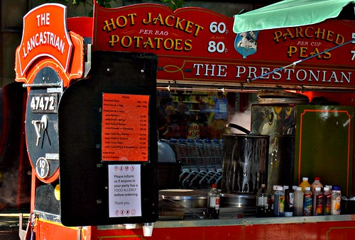 Throwback to the old Hot Potato van in Preston | by Tony Worrall