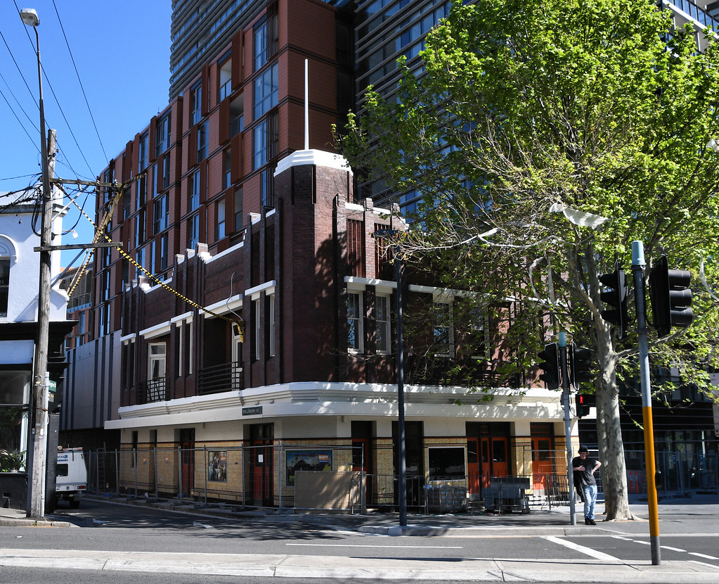 Former Castle Connell Hotel, Chippendale, Sydney, NSW.