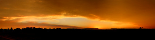 colorado sunset smoke plume cameronpeakfire mullenfire williamsforkfire panorama landscape