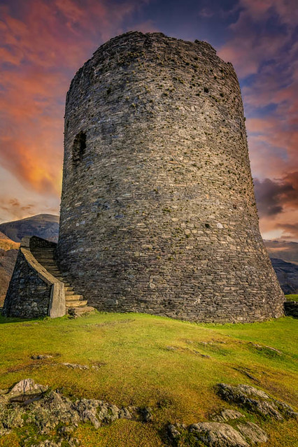 Dolbadarn Castle Snowdonia Wales